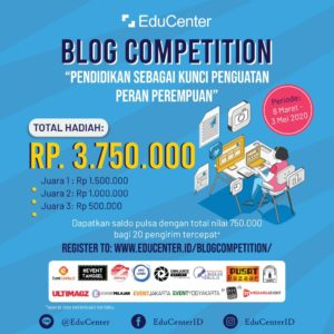 Lomba Menulis Blog EduCenter